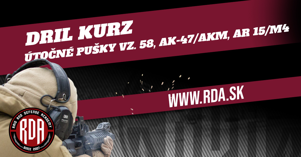 Drills Course - Assault Rifles vz. 58, AK-47/AKM, AR 15/M4