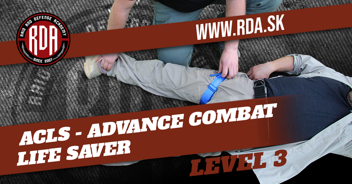 ACLS - Advance Combat Life Saver Level 3
