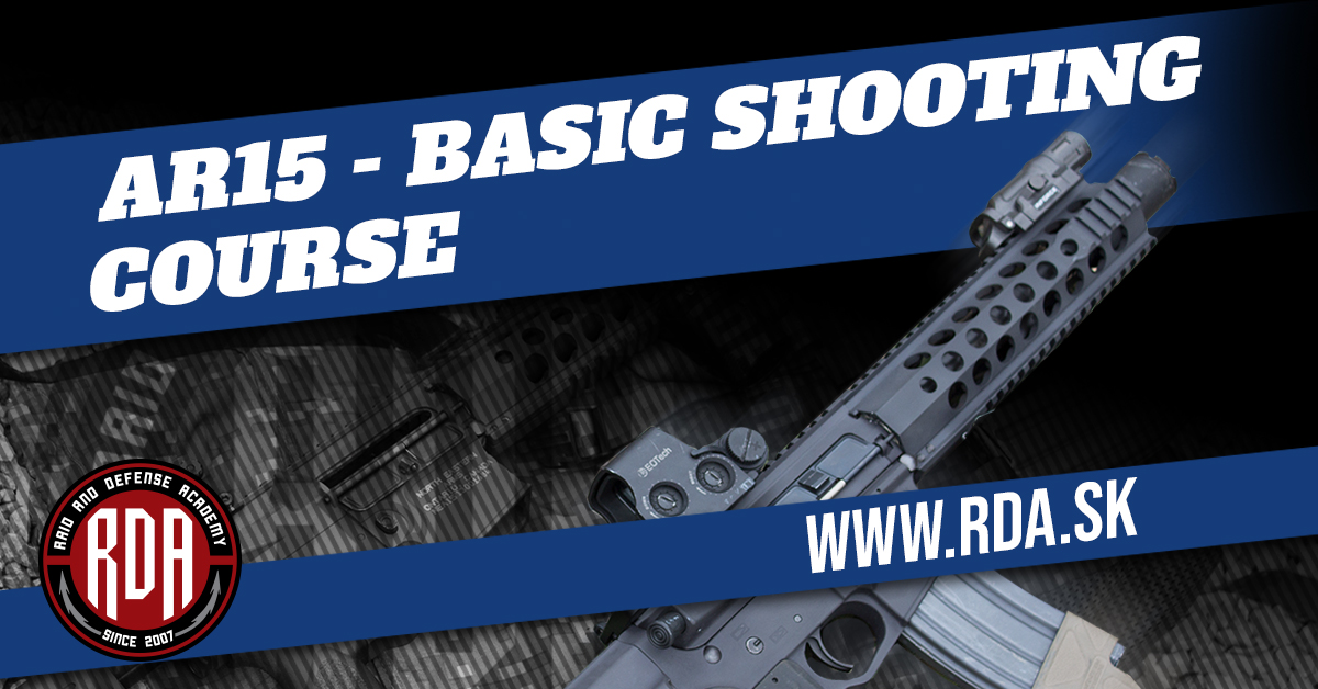 AR15 - BASIC SHOOTING COURSE