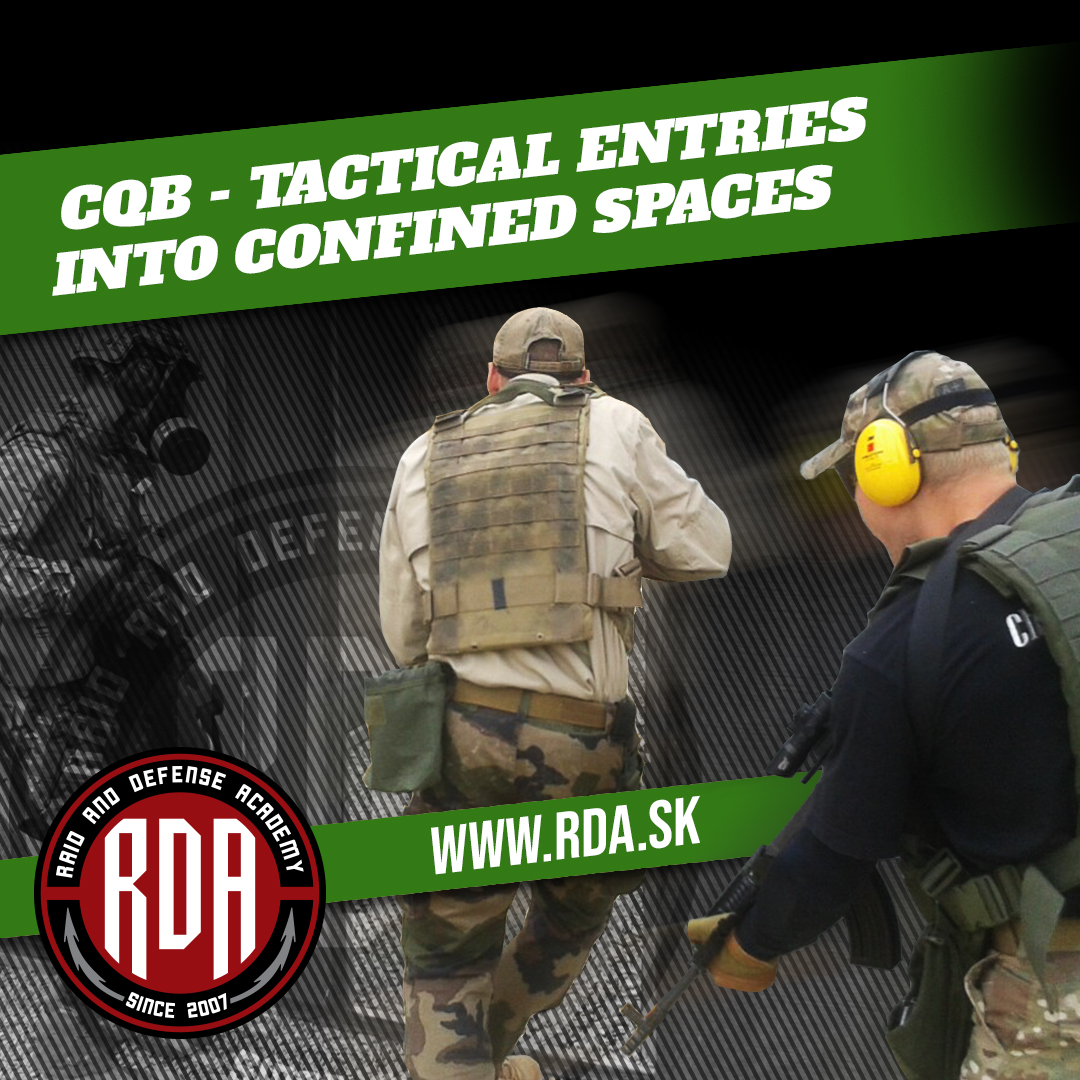 CQB - Tactical entries into confined spaces