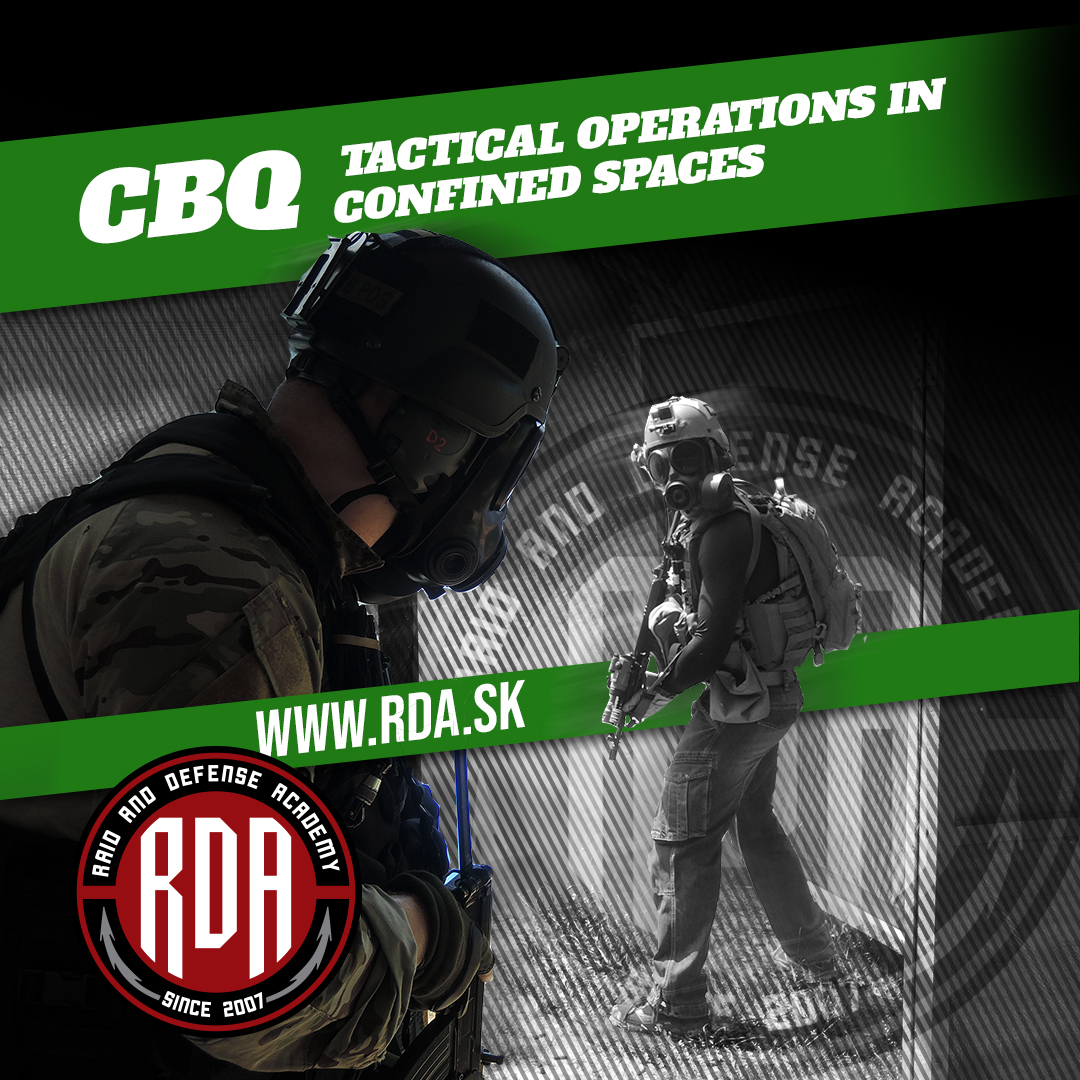 CQB - Tactical operations in confined spaces