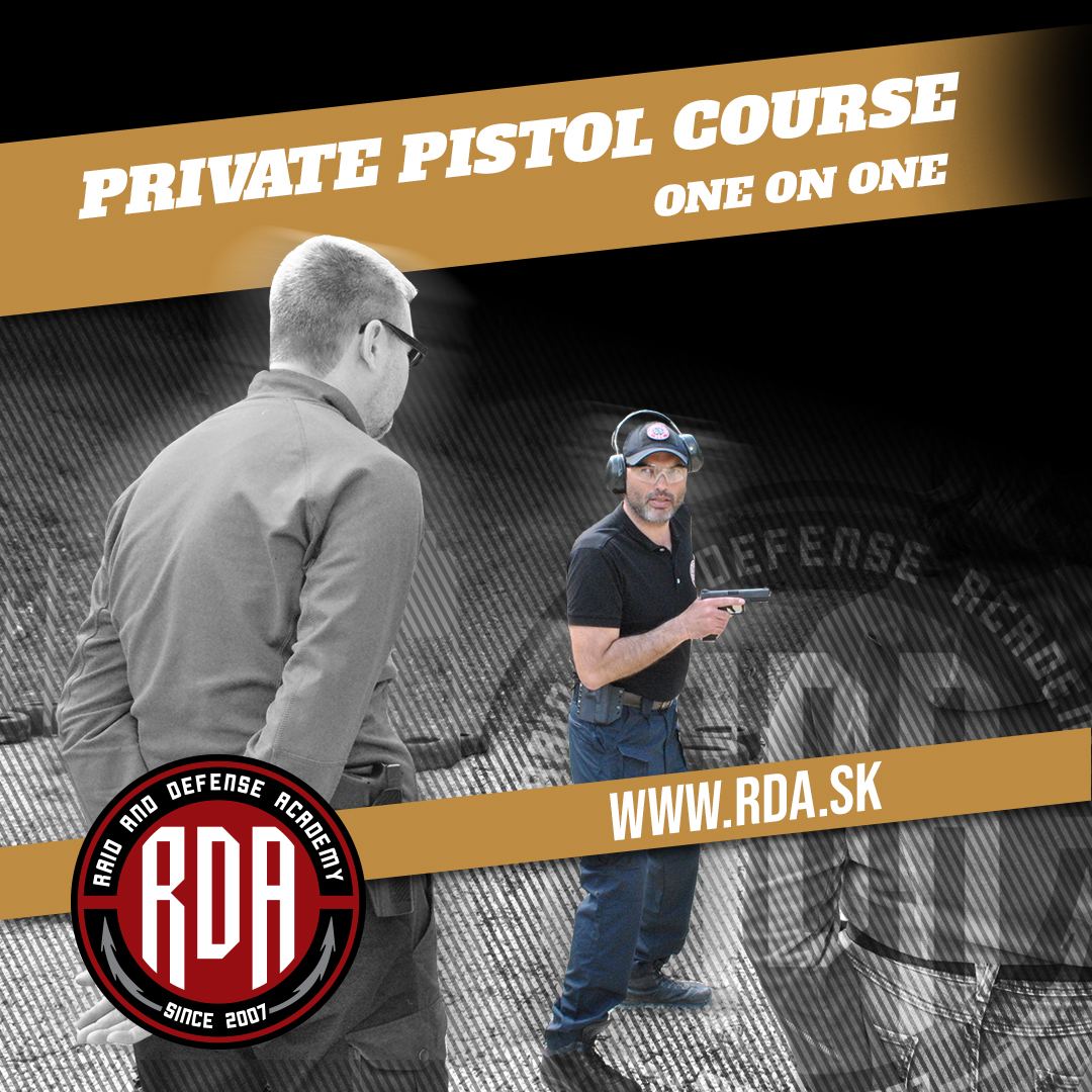 Private course pistol - ONE on ONE