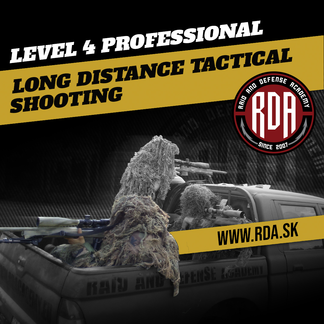 Long distance tactical shooting - PROFESSIONAL