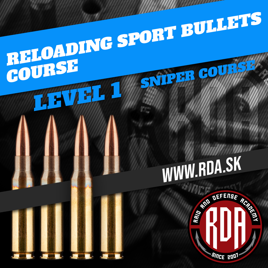 Course reloading of high accuracy sport bullets - Level 1