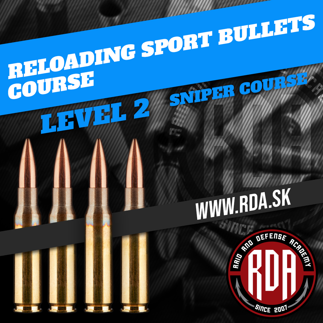 Course reloading of high accuracy sport bullets - Level 2
