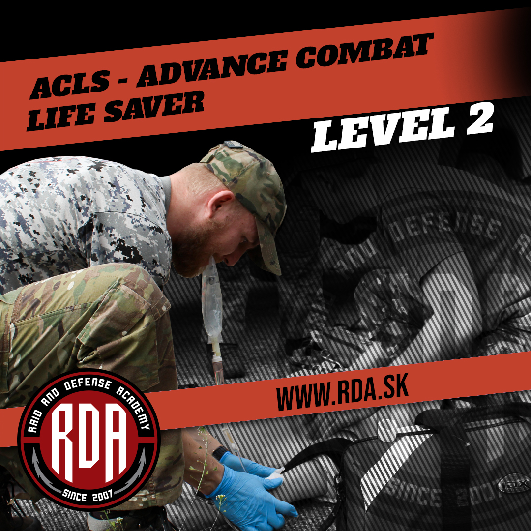 ACLS - Advance Combat Life Saver Level 2