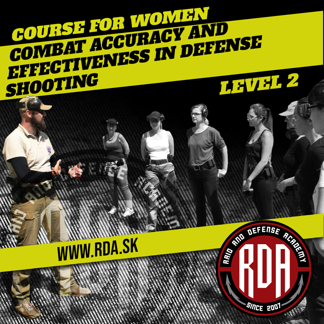 Course for women -  Combat accuracy and effectiveness in defense shooting