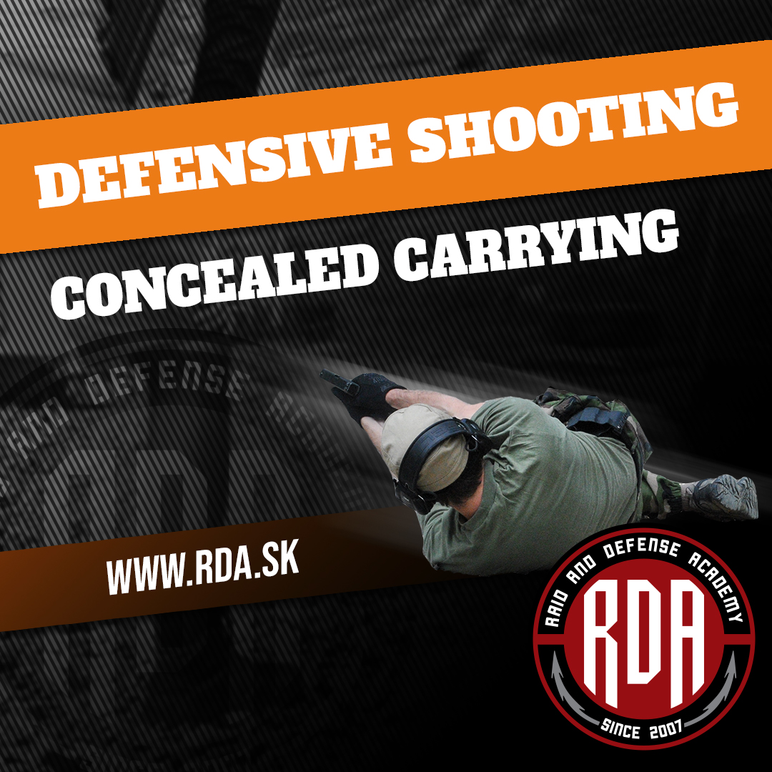 Defensive pistol shooting - Concealed carrying