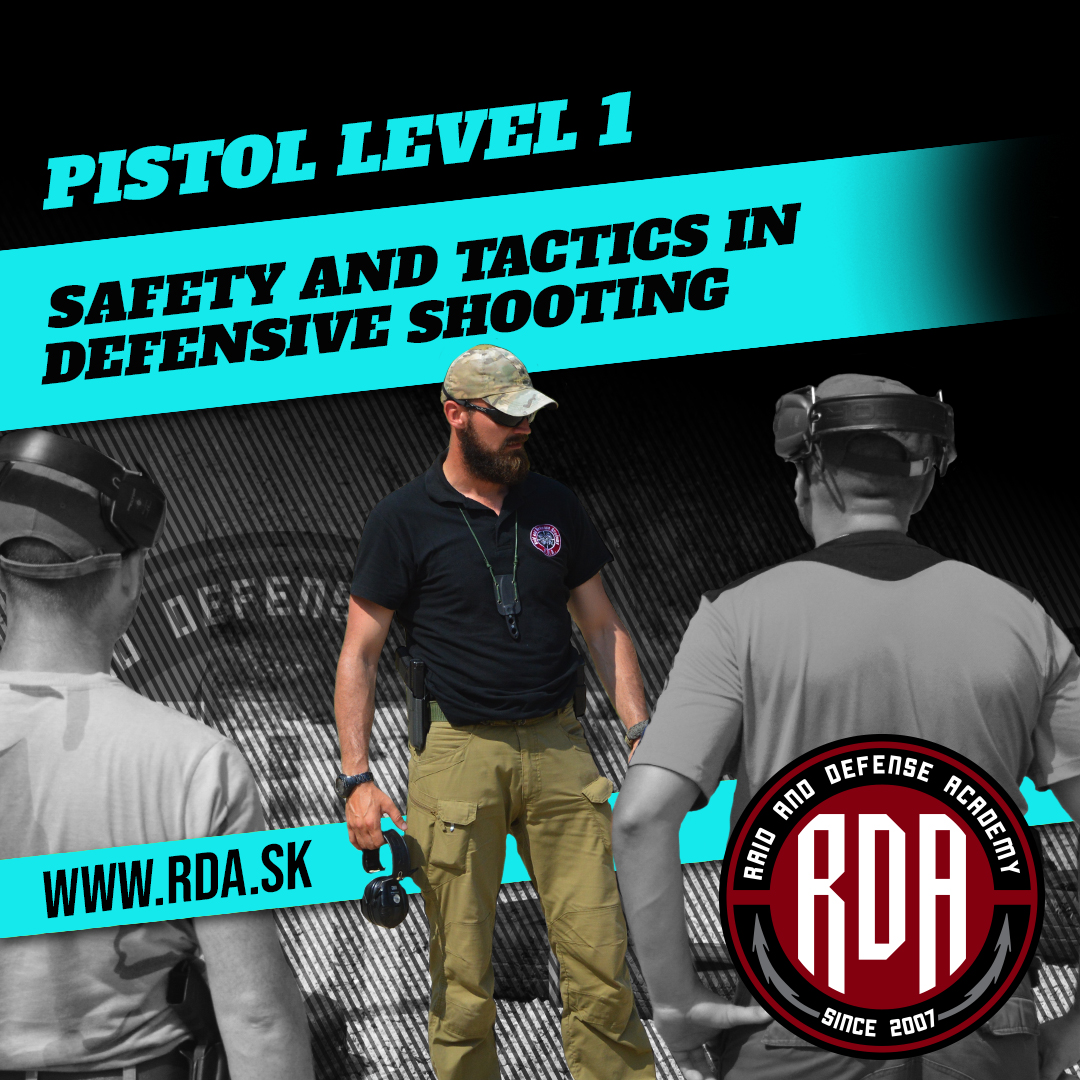 Pistol Level 1 - Safety and tactics in defensive shooting