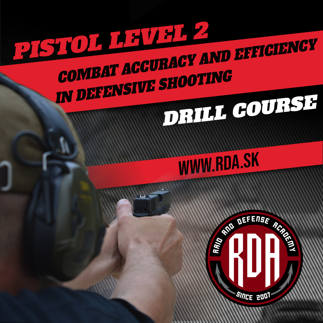 Pistol Level 2 - Combat accuracy and efficiency in defensive shooting