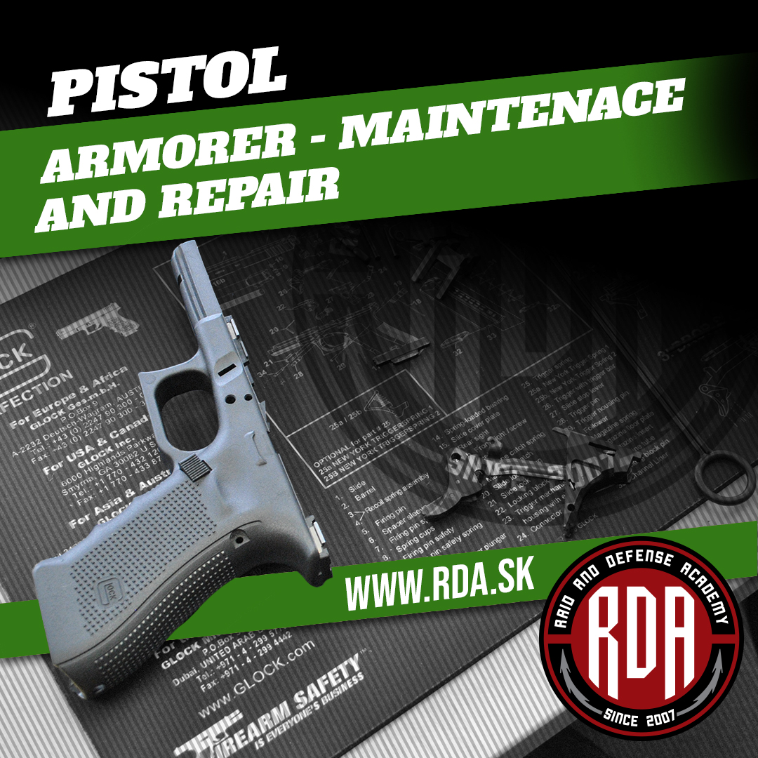 Pistol - Armorer - Maintenance and repair