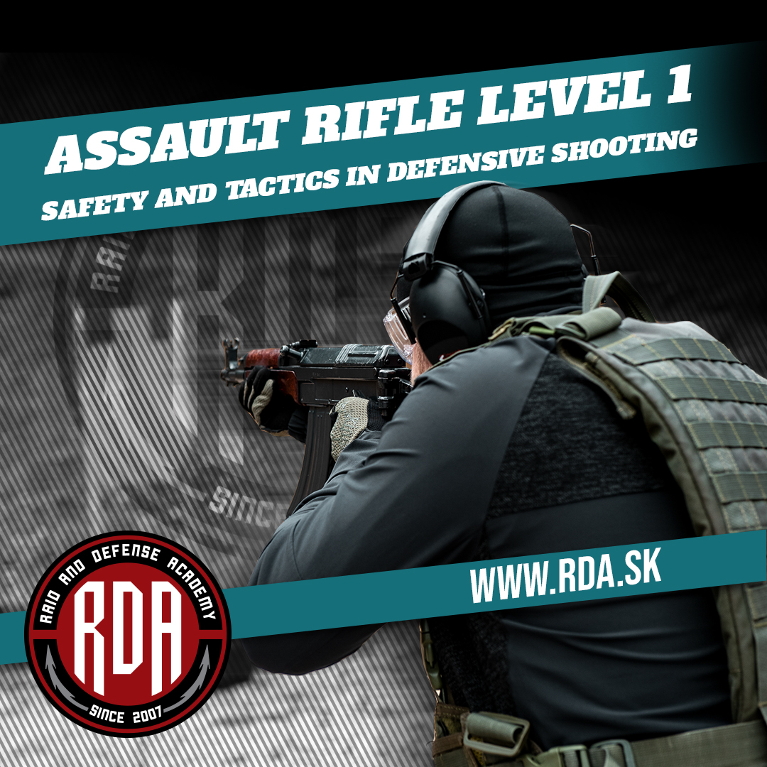 Assault Rifle Level 1 - Safety and tactics in defensive shooting