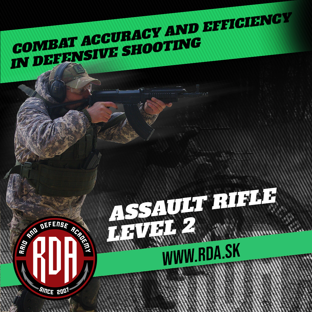 Assault Rifle Level 2 - Combat accuracy and efficiency in defensive shooting