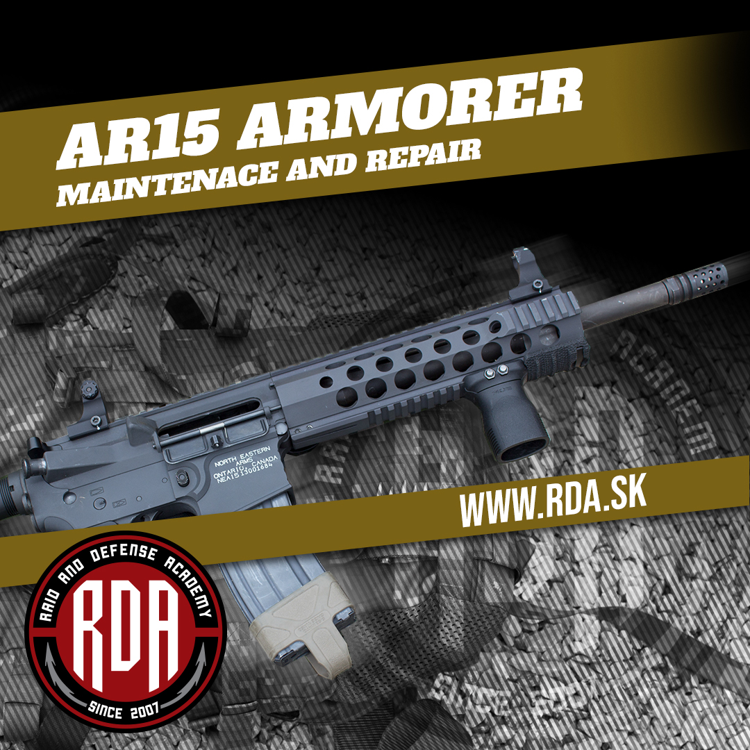 AR15 - Armorer - Maintenance and repair
