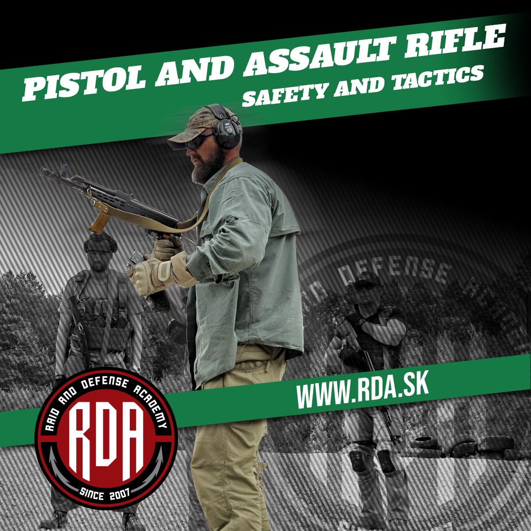 Pistol and Assault Rifle Level 1 - Safety and Tactics