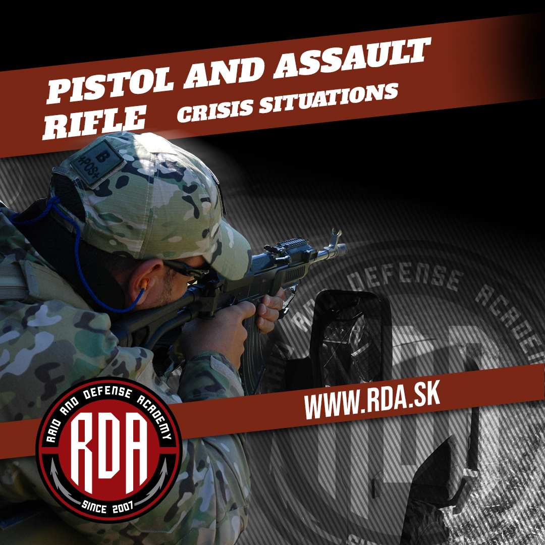 Pistol and Assault Rifle Level 2 - Crisis situations
