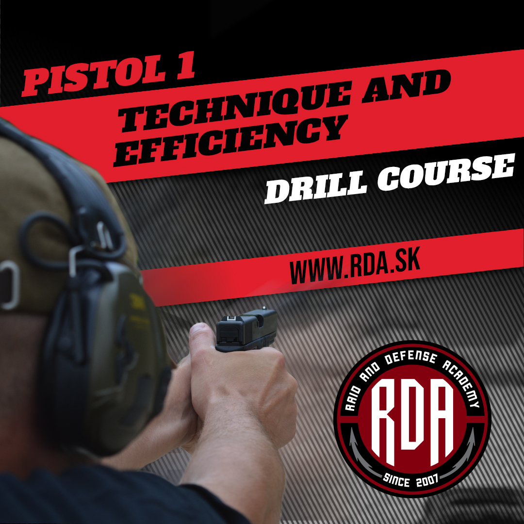 Drills Course - Pistol 1 - Technique and Efficiency